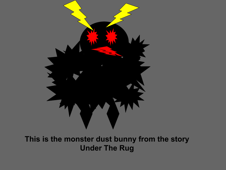 Under The Rug Monster (1)